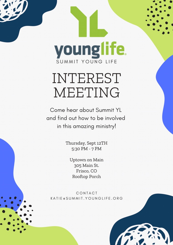 young life interest meeting